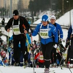 Finlandia-hiihto - Mikhail Bakay (5105), Anja Markkola (5338)