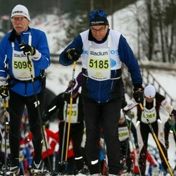 Finlandia-hiihto - Eero Savonen (5098), Heikki Itkonen (5185)
