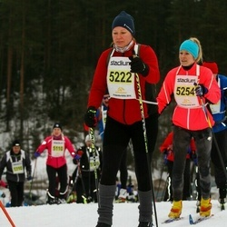 Finlandia-hiihto - Tanja Ruohonen (5222), Malin Lindroos (5254)