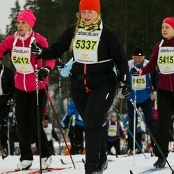 Finlandia-hiihto - Elisa Lehto (5337), Paula Laine (5412)
