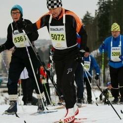 Finlandia-hiihto - Sergei Prikhodko (5072), Leila Lintunen (5366)