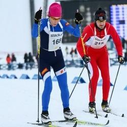 Finlandia-hiihto - Tatiana Larionova (168), Esko Backman (215)