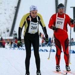 Finlandia-hiihto - Erkki Oinaskallio (268), Jyrki Peltonen (677)