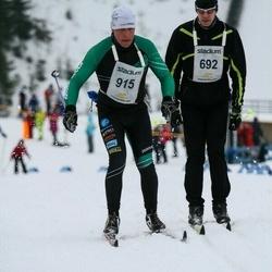 Finlandia-hiihto - Ilari Saikkonen (692), Jari Paananen (915)