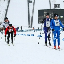 Finlandia-hiihto - Marina Rantanen (666), Martti Kuha (731), Maria Lindell (981)