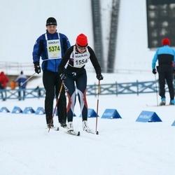 Finlandia-hiihto - Anna Lehtinen (1554), Marko Jormalainen (5374)