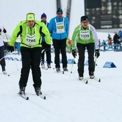 Finlandia-hiihto - Tarja Patama (1329), Jussi Vartama (1786)