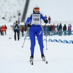 Finlandia-hiihto - Pirjo Koskinen (1956)