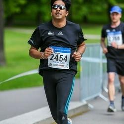 Helsinki Half Marathon - Dinesh Wijekoon (2454)