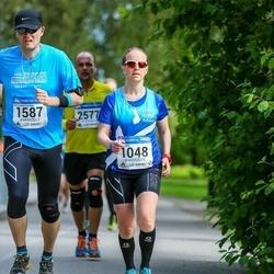 Helsinki Half Marathon - Maria Laine (1048), Kari Paakkinen (1587)