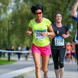 Helsinki Half Marathon - Marjukka Sinisalo (2067)