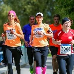 Helsinki Half Marathon - Hellimari Kinnunen (804), Marjo Tuhkanen (2283)