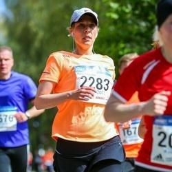 Helsinki Half Marathon - Marjo Tuhkanen (2283)