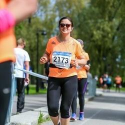 Helsinki Half Marathon - Gerda Szász (2173)