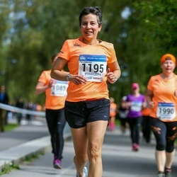 Helsinki Half Marathon - Pia Lindström (1195)