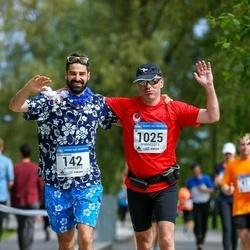 Helsinki Half Marathon - Matteo Brunelli (142), Ulrich Lachner (1025)