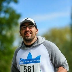 Helsinki Half Marathon - Daniel Iosca (581)