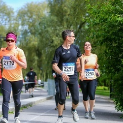 Helsinki Half Marathon - Pekka Tuomi (2292), Janna Tuomi (2293), Minna Paananen-Porkka (2770)