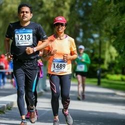 Helsinki Half Marathon - Uditha Lokuge (1213), Lokuge Nilmini (1489)