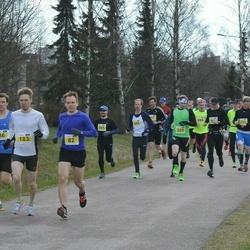 Helsinki Spring marathon - Mikko Sallinen (82), Marko Järri (183)