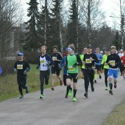 Helsinki Spring marathon - Tommy Rantala (220), Eetu Myrskylä (231)