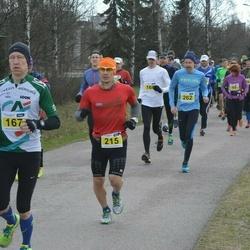 Helsinki Spring marathon - Jukka Havia (167), Jani Rintala (215)