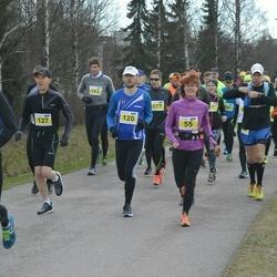 Helsinki Spring marathon - Anu Ojanen (55), Petri Welling (120), Marko Halmeenpää (127)