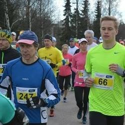 Helsinki Spring marathon - Niko Hosiaisluoma (66), Mauno Saastamoinen (247)