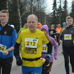 Helsinki Spring marathon - Jyri Virta (212), Tuukka Timonen (264)