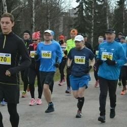 Helsinki Spring marathon - Jean Buffiere (70), Marko Martikainen (148), Jarkko Kujala (159), Hannes Honkonen (202)