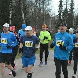 Helsinki Spring marathon - Marko Martikainen (148), Jarkko Kujala (159), Hannes Honkonen (202)