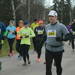 Helsinki Spring marathon - Maija Reivonen (16), Håkan Nystrand (102), Virpi Jyry (237), Niilo Oikarinen (269)