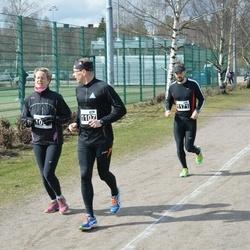 Helsinki Spring marathon - Petri Vuori (1107), Arto Pajunen (1171)