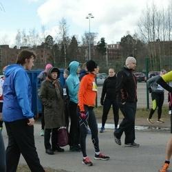 Helsinki Spring marathon - Pekka Kinnari (562), Jukka Saarikko (1180)