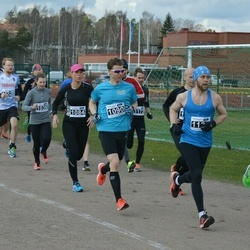 Helsinki Spring marathon - Birgitt Lamberg (1084), Mikko Pihlajavesi (1090)