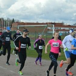 Helsinki Spring marathon - Sari Taipale (1070), Arto Pajunen (1171)