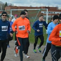 Helsinki Spring marathon - Tarja Ryhänen-Dahlman (54), Patrick Östermark (1113), Andrei Provorkov (1168)