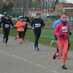 Helsinki Spring marathon - Sari Karuveha (1061), Petri Vuori (1107), Maret Trolla (1142), Sami Sormunen (1163)