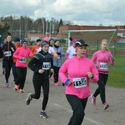 Helsinki Spring marathon - Tanja Svirskis (1136), Stina Tervo (1152), Annukka Katainen (1184)