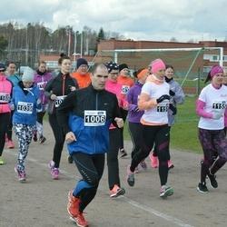 Helsinki Spring marathon - Grit Kabiersch (1039), Petri Ahlgren (1106), Mimi Cajander (1151), Inka Calonius (1155)
