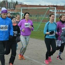 Helsinki Spring marathon - Juha Sorvari (1002), Elina Lehtokumpu-Leinonen (1146), Maria Hänninen (1150)
