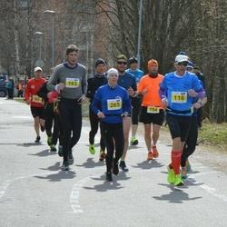 Helsinki Spring marathon - Markus Eklund (116), Marko Varalahti (163), Harri Tossavainen (165)
