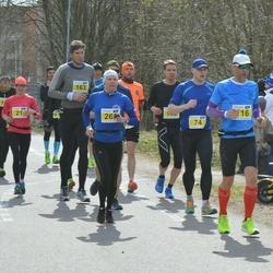 Helsinki Spring marathon - Jukka Numminen (74), Markus Eklund (116)