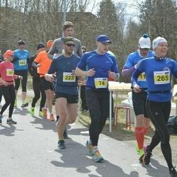 Helsinki Spring marathon - Jukka Numminen (74), Sanna Kullberg (265)