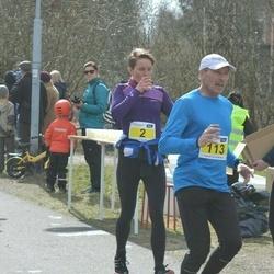 Helsinki Spring marathon - Hannele Kinnunen (2), Tommy Karlsson (113)