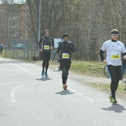 Helsinki Spring marathon - Suvash Dey (124), Mika Viitikko (186)