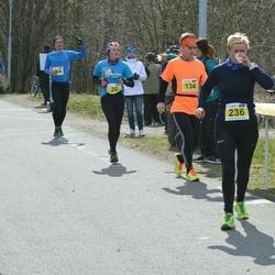 Helsinki Spring marathon - Eka Partanen (134), Satu Husu (236)