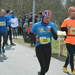 Helsinki Spring marathon - Katie Patterson (20), Eka Partanen (134)