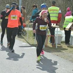 Helsinki Spring marathon - Juha Rinkinen (90), Marja-Terttu Sinisalo (235)