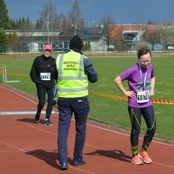 Helsinki Spring marathon - Heini Koukkari (1076), Keijo Koivula (1176)